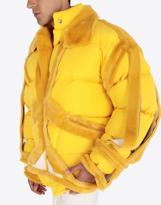 MAISON MARGIELA Décortiqué puffer jacket Jacket [*** pickupInStoreShippingNotGuaranteed_info ***] a