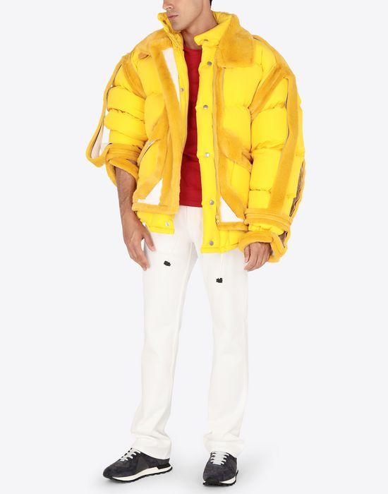 MAISON MARGIELA Décortiqué puffer jacket Jacket [*** pickupInStoreShippingNotGuaranteed_info ***] d