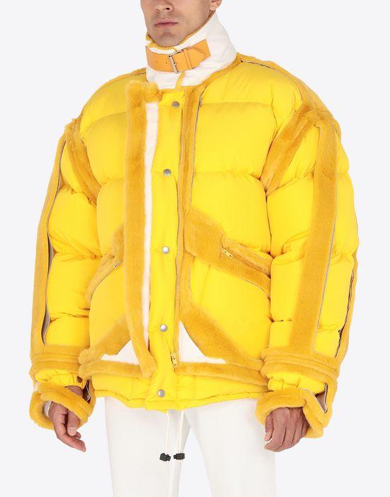 MAISON MARGIELA Décortiqué puffer jacket Jacket [*** pickupInStoreShippingNotGuaranteed_info ***] r