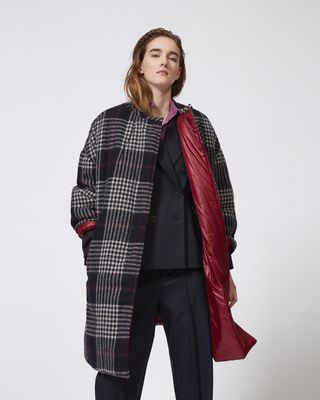 HARRISON long quilted coat