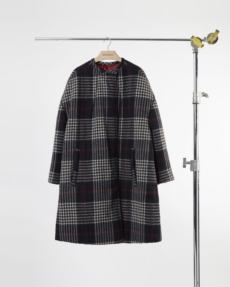 HARRISON long quilted coat  ISABEL MARANT