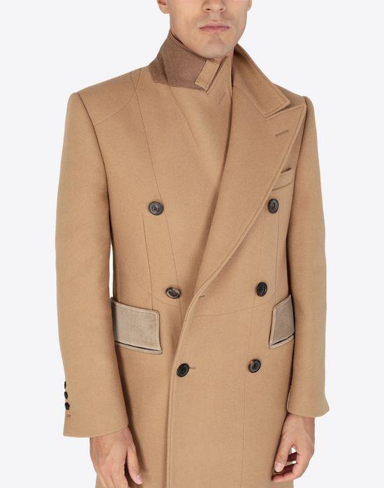 MAISON MARGIELA Nutmeg double-breasted overcoat Coat [*** pickupInStoreShippingNotGuaranteed_info ***] a