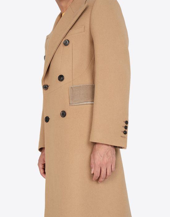 MAISON MARGIELA Nutmeg double-breasted overcoat Coat [*** pickupInStoreShippingNotGuaranteed_info ***] b
