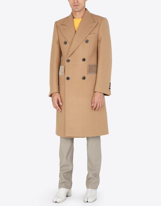 MAISON MARGIELA Nutmeg double-breasted overcoat Coat [*** pickupInStoreShippingNotGuaranteed_info ***] r