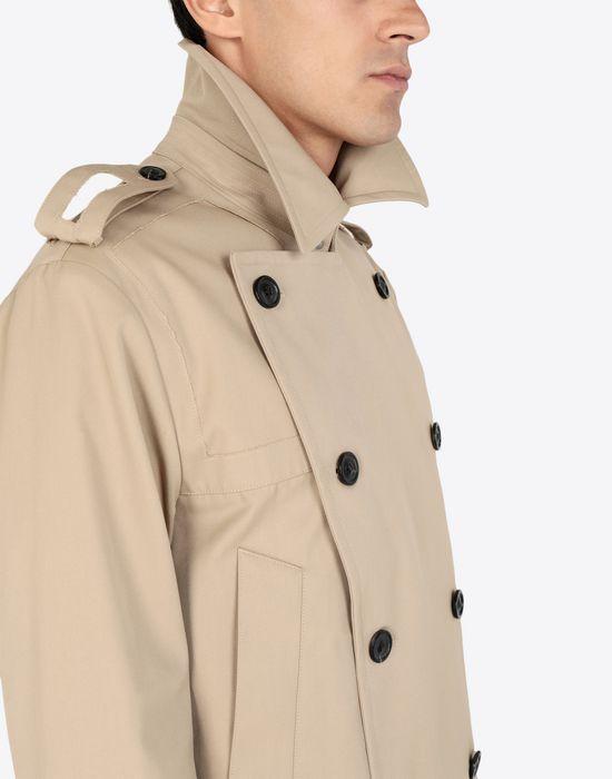 MAISON MARGIELA Cropped trench jacket Jacket [*** pickupInStoreShippingNotGuaranteed_info ***] a
