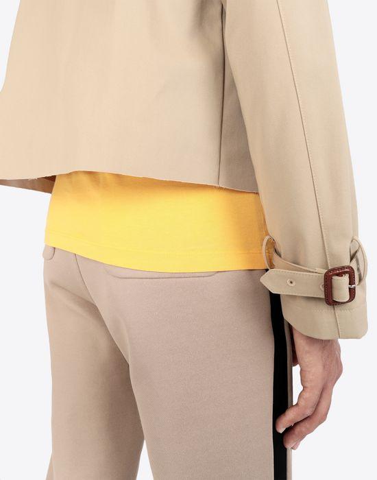MAISON MARGIELA Cropped trench jacket Jacket [*** pickupInStoreShippingNotGuaranteed_info ***] b