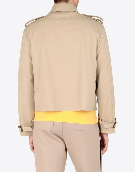 MAISON MARGIELA Cropped trench jacket Jacket [*** pickupInStoreShippingNotGuaranteed_info ***] e