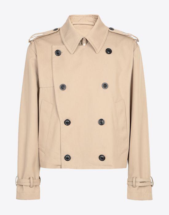 MAISON MARGIELA Cropped trench jacket Jacket [*** pickupInStoreShippingNotGuaranteed_info ***] f