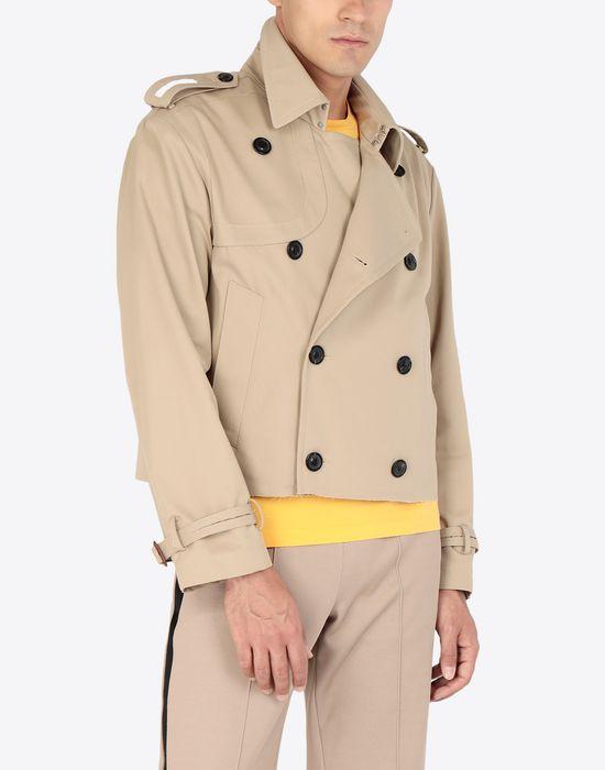 MAISON MARGIELA Cropped trench jacket Jacket [*** pickupInStoreShippingNotGuaranteed_info ***] r