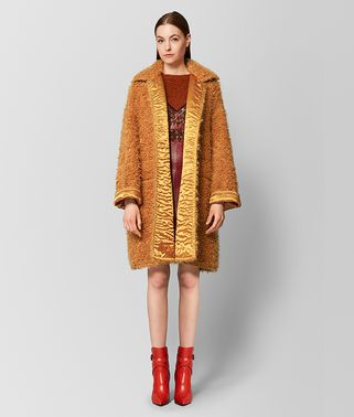 FAWN/MARIGOLD WOOL COAT