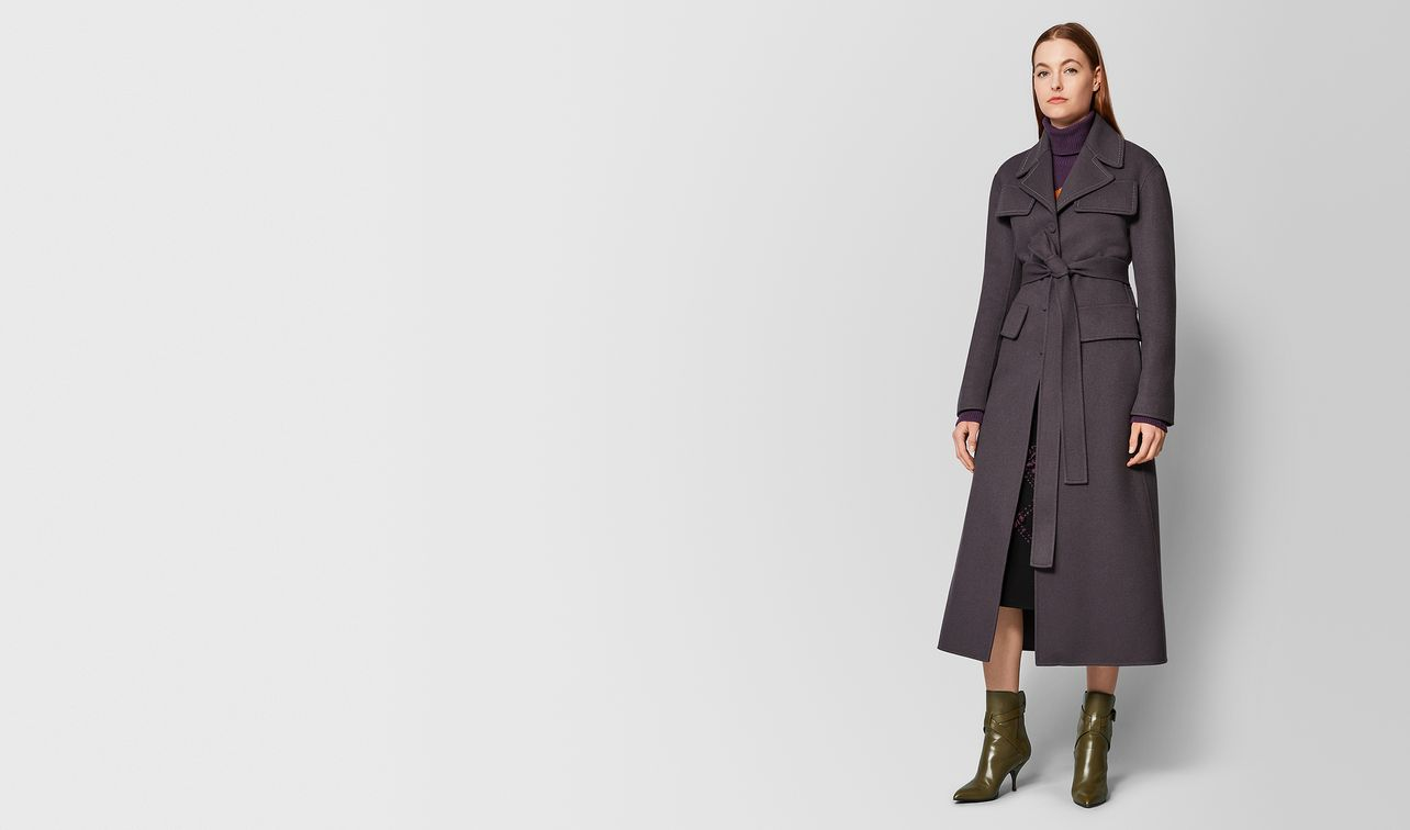 questche double cashmere coat landing