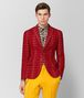 BOTTEGA VENETA NEW RED/MIST WOOL JACKET Outerwear and Jacket Man fp