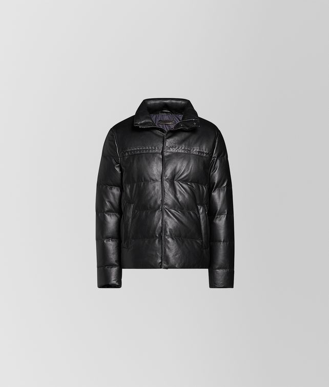 BOTTEGA VENETA NERO LAMB JACKET Outerwear and Jacket Man fp