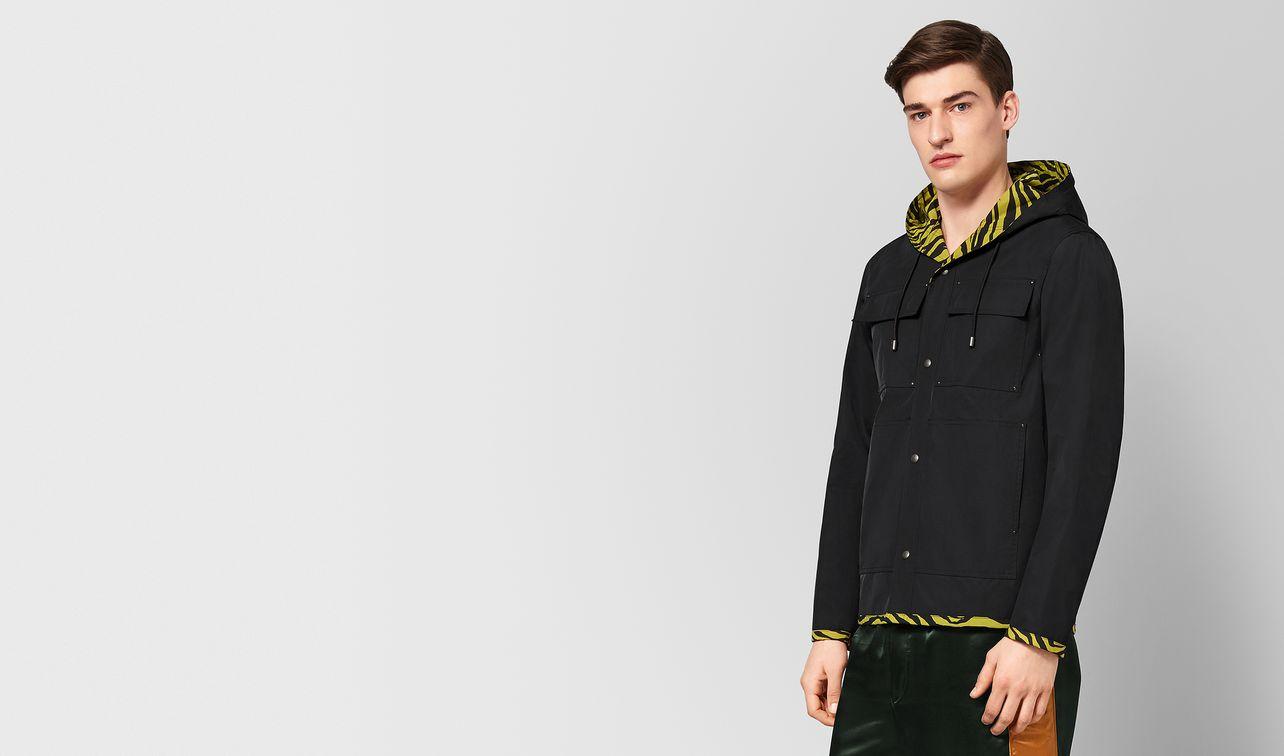 nero/dark chamomile nylon jacket landing