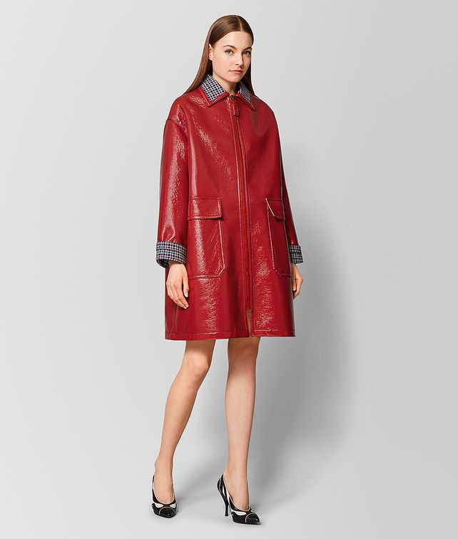 BOTTEGA VENETA MULTICOLOR GLOSSY WOOL COAT Outerwear and Jacket [*** pickupInStoreShipping_info ***] fp