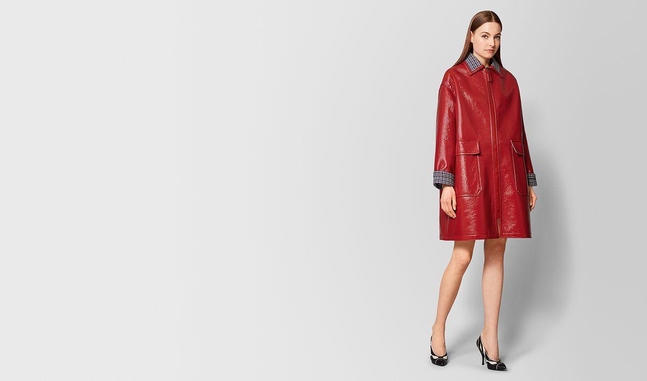 cappotto in lana lucida multicolor landing