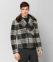 multicolor double wool/shearling jacket Front Portrait