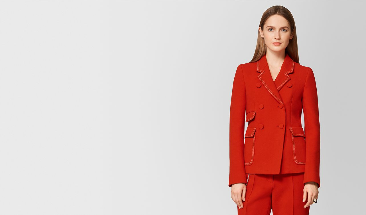 poppy wool jacket landing