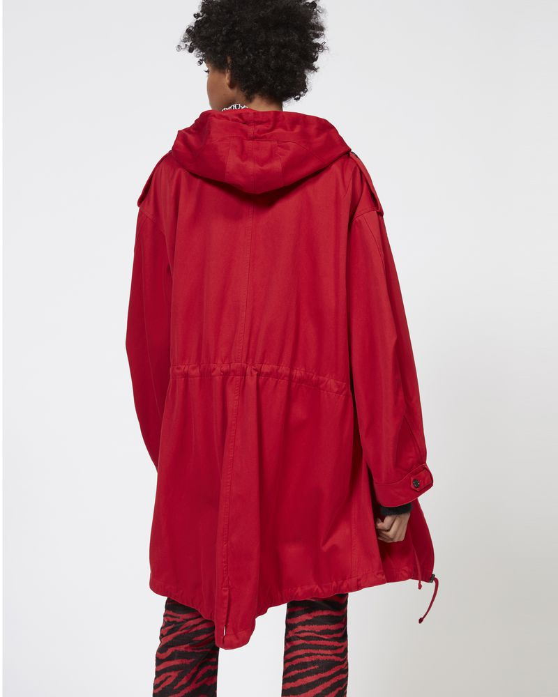 DUFFY hooded trench coat ISABEL MARANT ÉTOILE