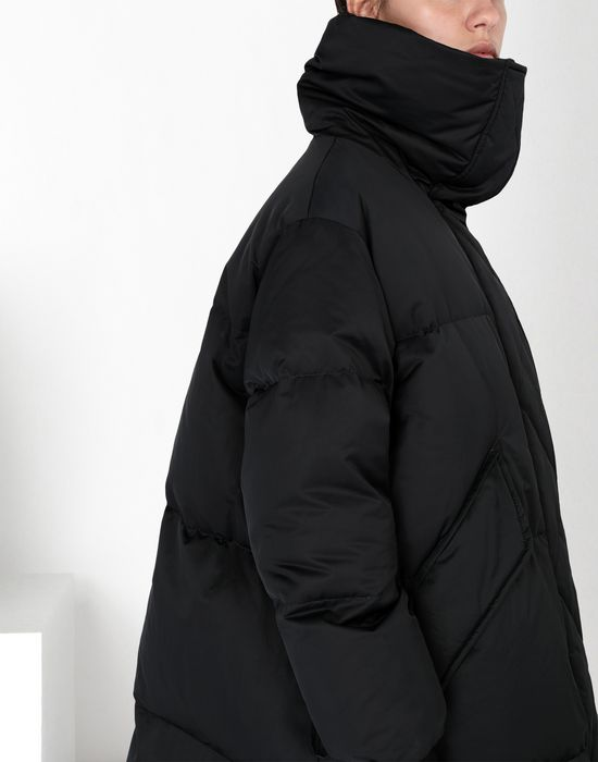 MM6 MAISON MARGIELA Oversized puffed nylon sports jacket Mid-length jacket [*** pickupInStoreShipping_info ***] e