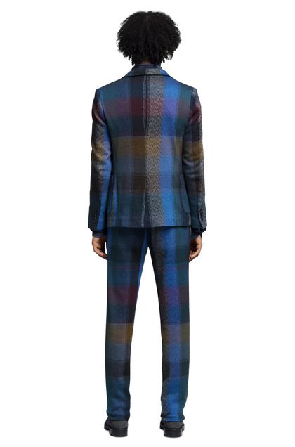MISSONI Jacket Blue Man - Front