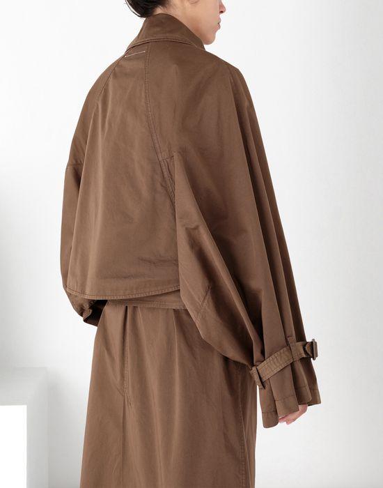 MM6 MAISON MARGIELA Long dyed trench coat Coat [*** pickupInStoreShipping_info ***] a