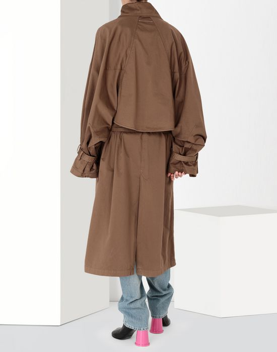 MM6 MAISON MARGIELA Long dyed trench coat Coat [*** pickupInStoreShipping_info ***] d