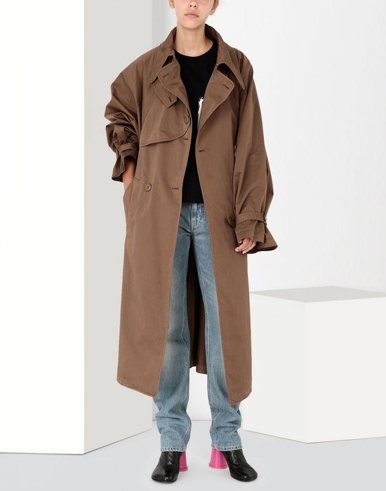 MM6 MAISON MARGIELA Long dyed trench coat Coat [*** pickupInStoreShipping_info ***] r