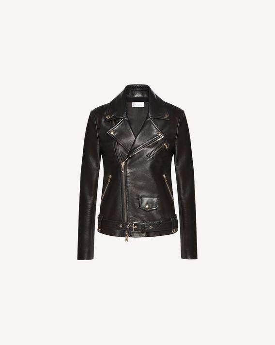 REDValentino Leather Biker