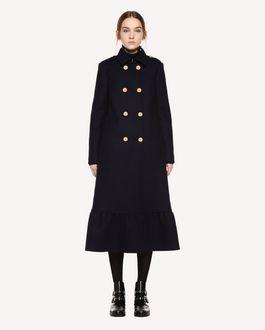 REDValentino Naval Wool Coat