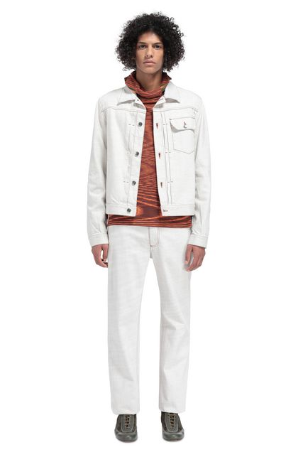 MISSONI Jacket Ivory Man - Front