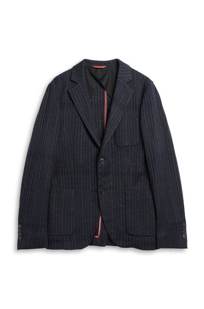 MISSONI Jacket Dark blue Man - Back