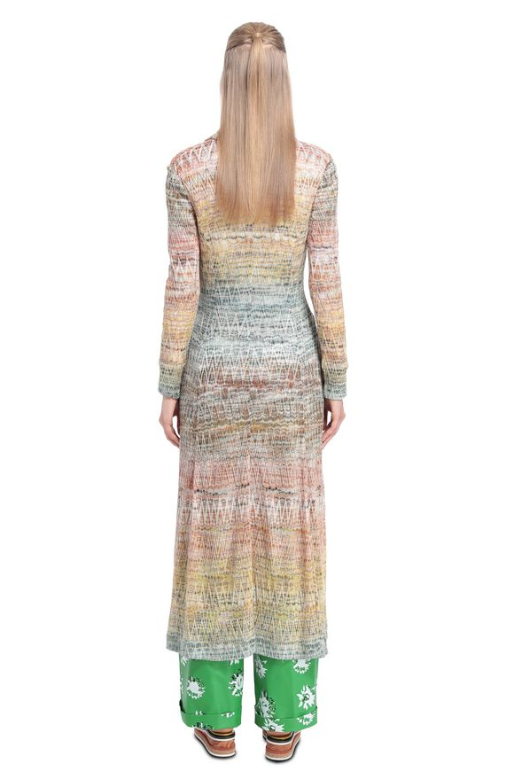 MISSONI Dust coat Woman, Rear view