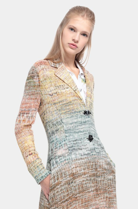 MISSONI Dust coat Woman, Detail