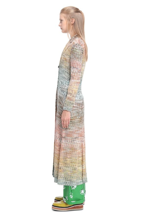 MISSONI Dust coat Woman, Side view