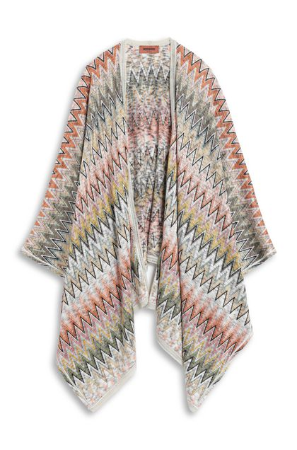 MISSONI Wrap Beige Woman - Back
