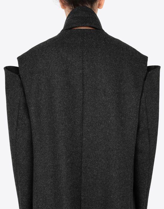 MAISON MARGIELA Coat with décortiqué details Coat [*** pickupInStoreShipping_info ***] b