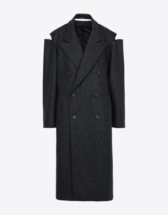 MAISON MARGIELA Coat with décortiqué details Coat [*** pickupInStoreShipping_info ***] f