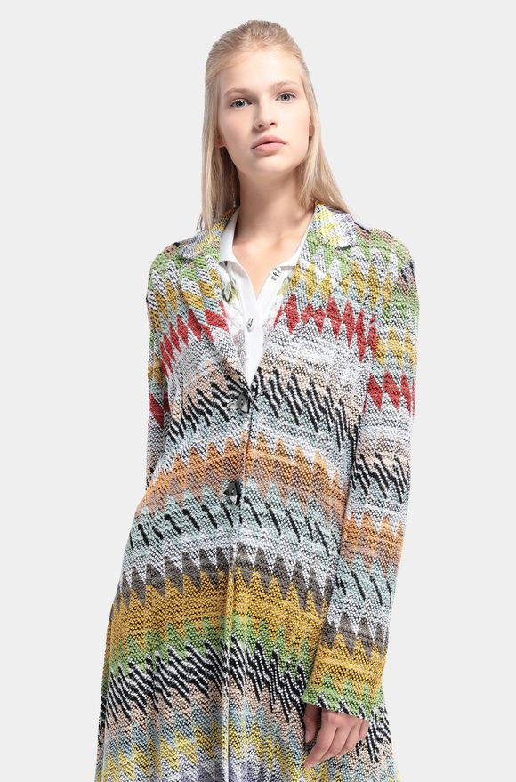 MISSONI Winterjacke Damen, Detail