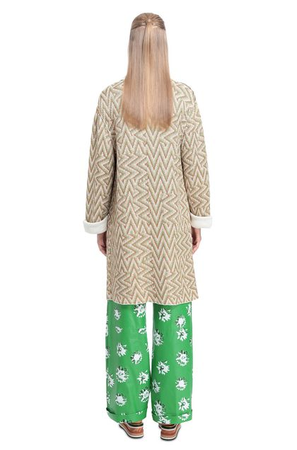 MISSONI Coat Light green Woman - Front