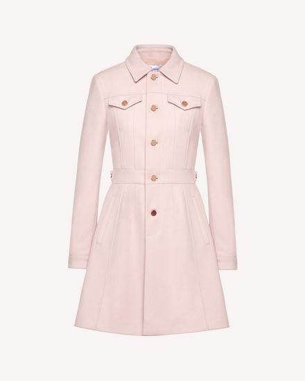 REDValentino Coat Woman QR0CA1V50NA N17 a