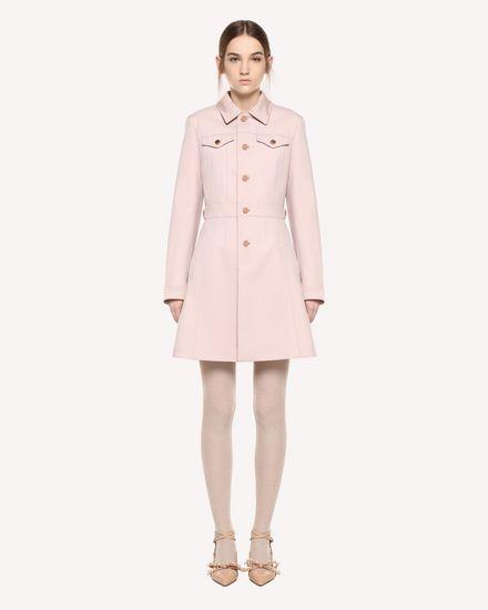 REDValentino Coat Woman QR0CA1V50NA N17 f