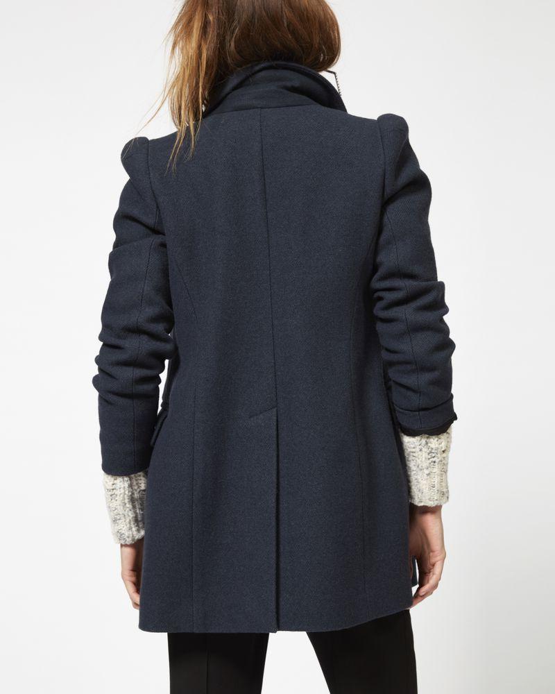 KLEA Caban in cotone e lana ISABEL MARANT