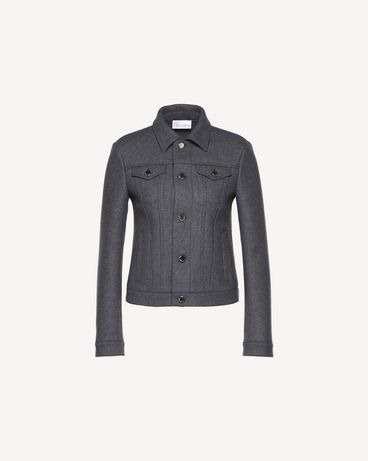 REDValentino QR0CI0Q738P 080 Light jacket Woman a