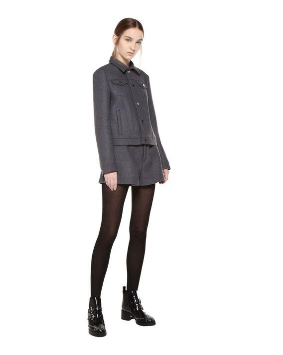 REDValentino Wool cloth denim-style jacket