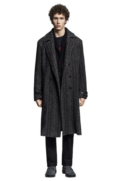 MISSONI Coat Black Man - Back