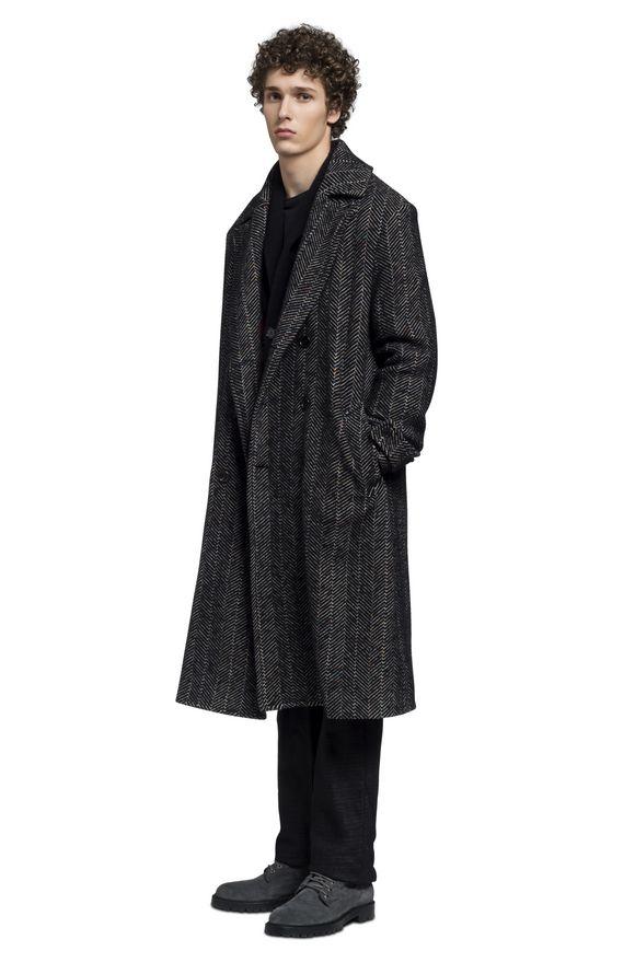 MISSONI Coat Black Man