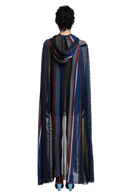 MISSONI Wrap Blue Woman - Front
