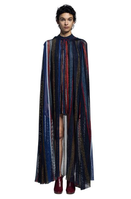 MISSONI Wrap Blue Woman - Back