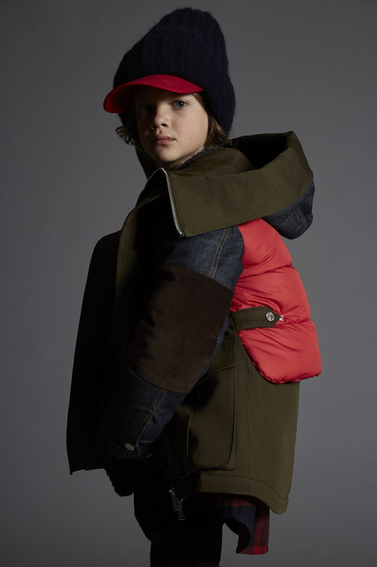 DSQUARED2 Mixed Fabrics Jacket JACKET/BLAZER Man